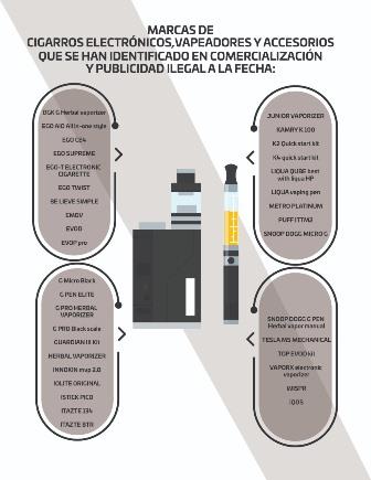 Alerta por cigarrillo electrónico